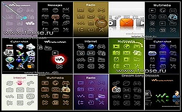 Modding Flash Menu Sony Ericsson Naite